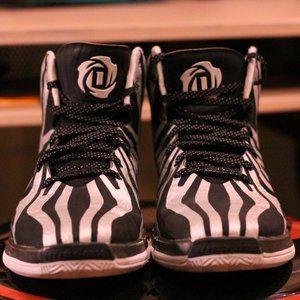 Adidas D Rose 4.5 Zebra